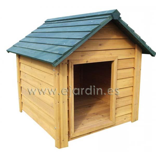 Garbric caseta para perro perdiguero de madera extra for Casetas de jardin grandes