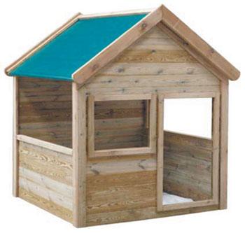 Jarbric caseta de madera infantil 19 mm 1 44 m2 maria for Casetas de jardin ikea