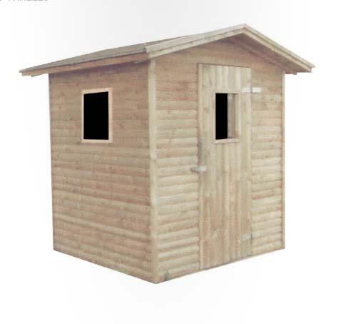 Como hacer una caseta de madera awesome si tu perro no for Casetas pvc baratas