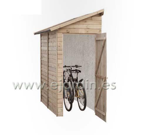 Jarbric trastero lateral madera para jardin 19 mm for Trastero jardin