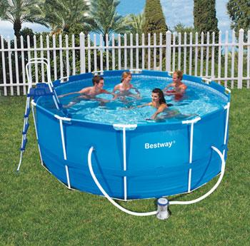 bestway kit piscina tubular redonda 366 x 122 cm 56088