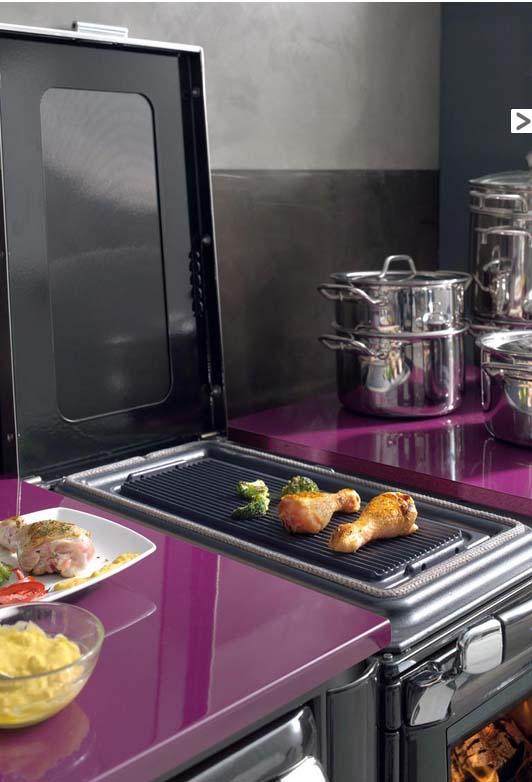 Lacunza vulcano 4 e cocina domestica calefactora cerrada for Cocina calefactora lacunza