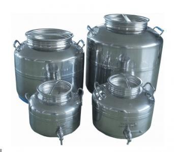 Ausavil dbtr3 s deposito bidon transporte vino aceite for Grifos de metal