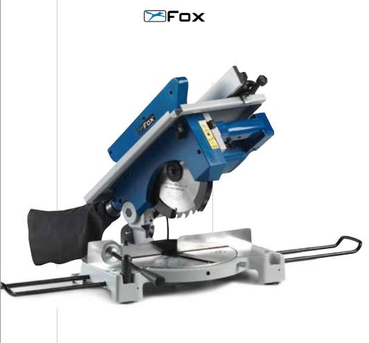 Fox f36 075 ingletadora con mesa superior 210 mm for Ingletadora con mesa superior