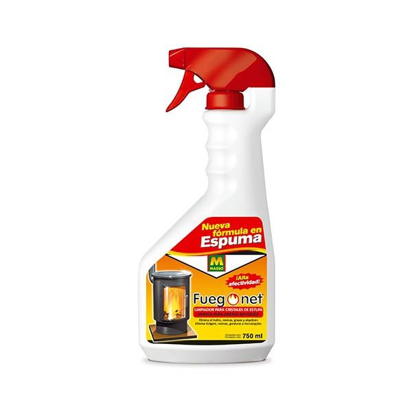 Fuego net limpiador para cristales de estufa - Productos para limpiar chimeneas ...