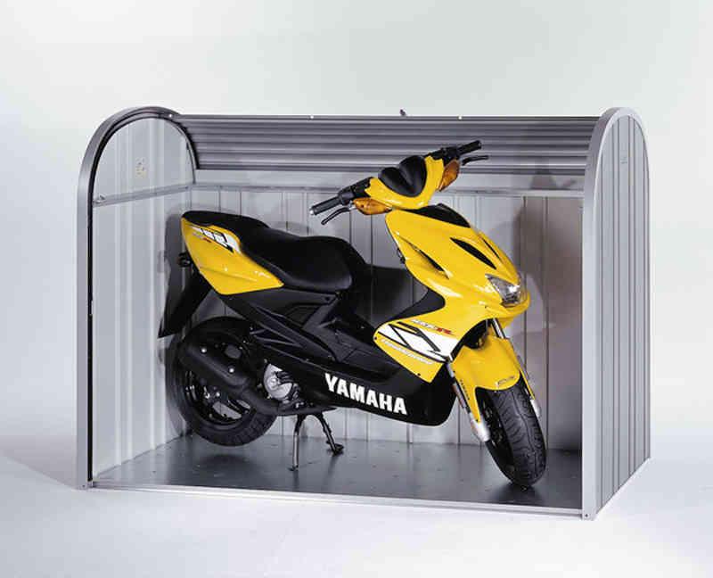 Biohort storemax 160 cobertizo motos bicicletas cubos basura for Cobertizo de plastico para jardin