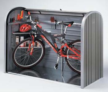 Biohort storemax 160 cobertizo motos bicicletas cubos basura for Guarda herramientas para jardin