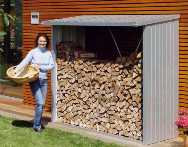 Biohort woodstock 230 cobertizo le ero armario jardin for Casetas para guardar lena