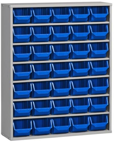 Novodinamica armario estanteria 35 cubetas - Estanterias para armarios ...