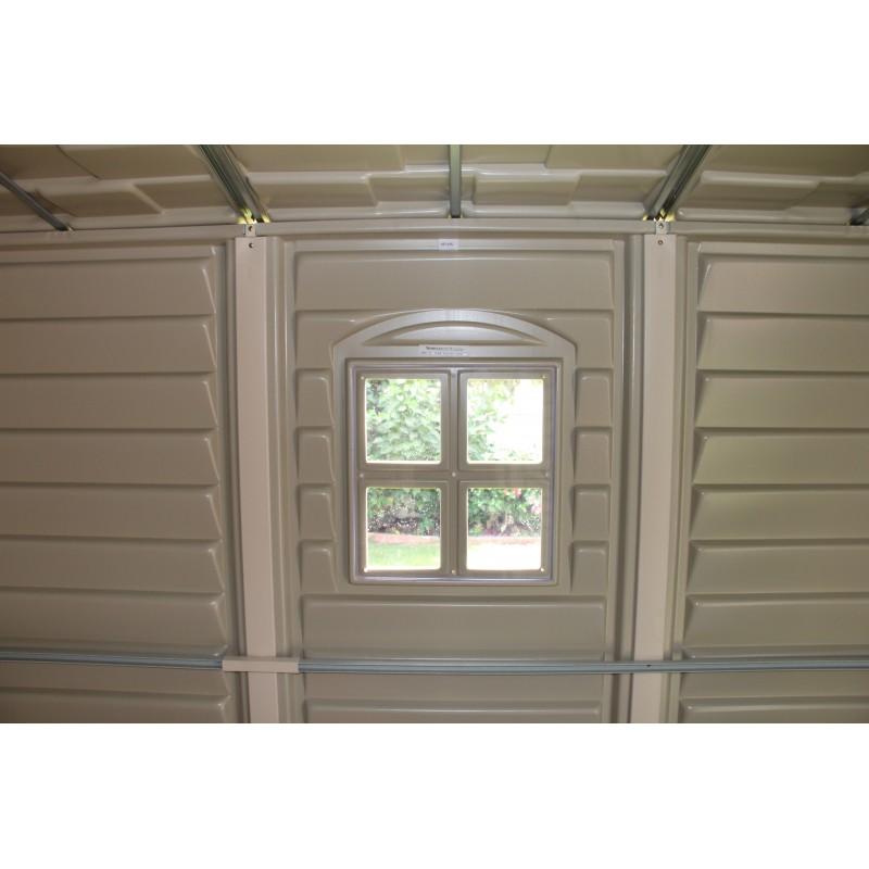 Duramax woodside 10x8 caseta 8 01 m2 for Cobertizo de resina