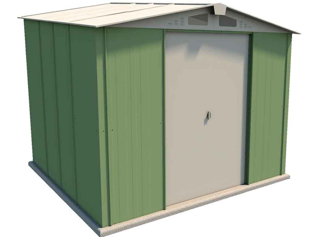 Nevo 639 caseta met lica jard n 7 m2 for Caseta metalica jardin