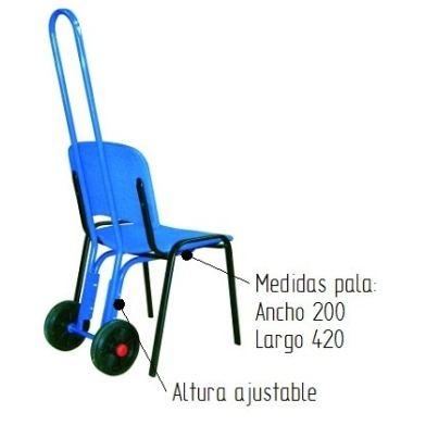 Carro porta sillas peque o 2010 - Carro porta sillas playa ...