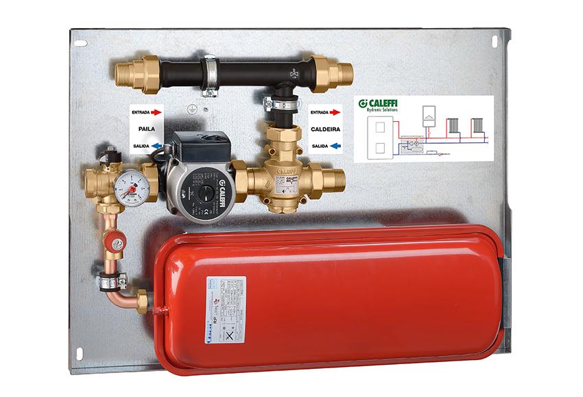 Hergom kit instalaci n hidr ulico hogares de agua - Chimeneas de lena para radiadores ...