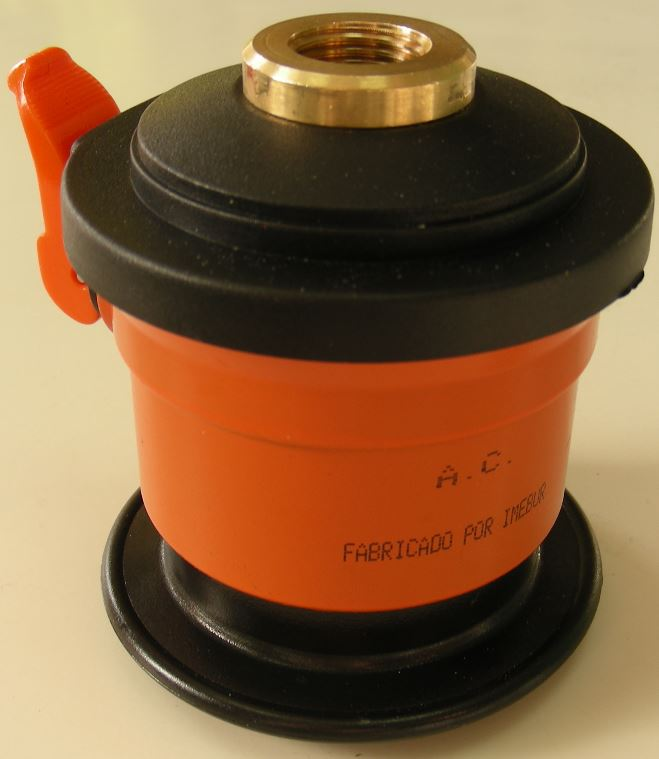 Regulador adaptador camping a botella de butano con - Botella camping gas ...