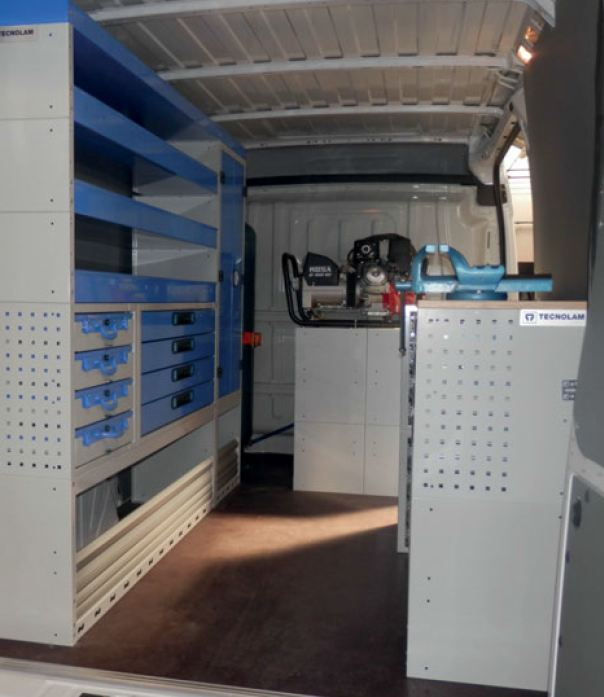 Tecnolam Organizador para vehículo taller